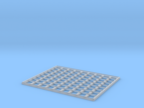 Rumble/Trackout Construction Grate in Smooth Fine Detail Plastic