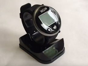 Wii Fit - Watch Backing in Black Natural Versatile Plastic