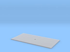 Trench Plate - 4x8' in Smooth Fine Detail Plastic