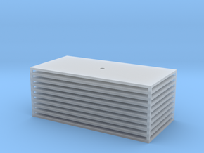 Trench Plate - 4x8' (10) in Smooth Fine Detail Plastic