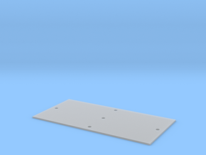 Trench Plate - 6'x12' in Smooth Fine Detail Plastic