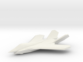 1/350 F-59A Sabre II in White Natural Versatile Plastic