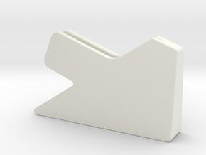 Boker Plus Subcom F Sharpening Jig (Shallow angle) in White Natural Versatile Plastic