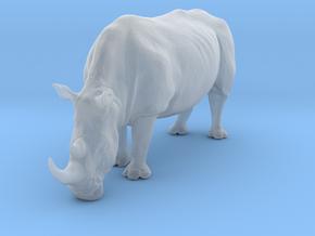 White Rhinoceros 1:45 Grazing Female in Smooth Fine Detail Plastic
