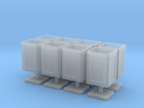 1/48 USN 40mm Ammo Box Lid Open Set in Smooth Fine Detail Plastic