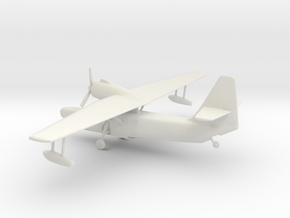 Beriev Be-8 Mole (Landing Gear) in White Natural Versatile Plastic: 1:64 - S