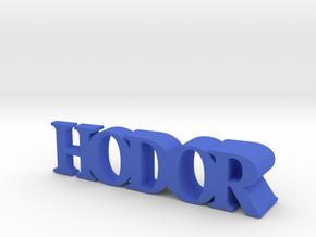 Hodor Door Stopper in Blue Processed Versatile Plastic