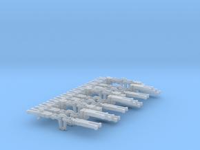 NEM OO Instanter Couplings - Sample Set in Frosted Ultra Detail