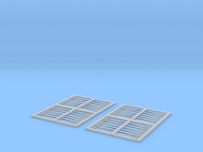 1:350 Scale US Navy Aircraft Tow Bars in Smoothest Fine Detail Plastic