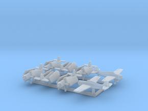 F4F-4 w/Gear x8 (FUD) in Smooth Fine Detail Plastic: 1:700