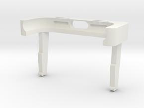 iPhone 7 Portrait Stand for Desk & Car  in White Natural Versatile Plastic