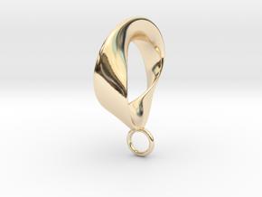 Torbius pendant in 14K Yellow Gold