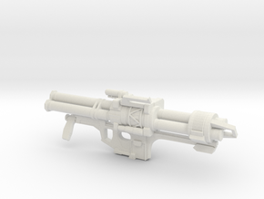 Halo Reach Rocket Launcher in White Natural Versatile Plastic