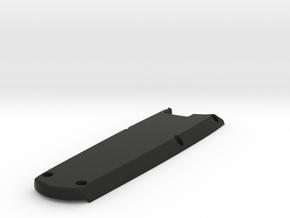 XL DIY Felt IA Calpac cover in Black Natural Versatile Plastic