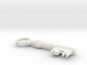Mann co. key in White Natural Versatile Plastic