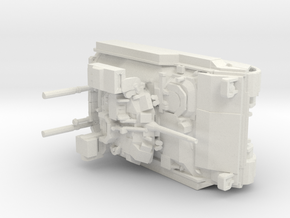 Bradley v1 1:87 scale in White Natural Versatile Plastic