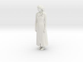 Printle C Femme 542 - 1/32 - wob in White Natural Versatile Plastic