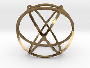 GENESA CRYSTAL in Polished Bronze