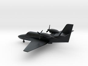 Beriev Be-103 Bekas  in Black Hi-Def Acrylate: 1:108