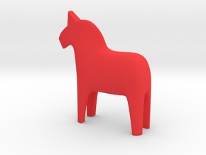 Dala Horse in Red Strong & Flexible Polished