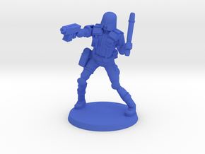 Colonial Provost in Blue Processed Versatile Plastic