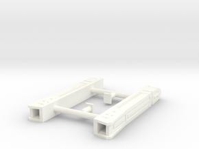 1/2500 Romulan Warp Nacelles type f/g in White Processed Versatile Plastic