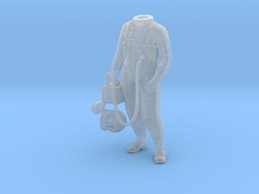 Mercury Astronaut Standing in Smooth Fine Detail Plastic: 1:32