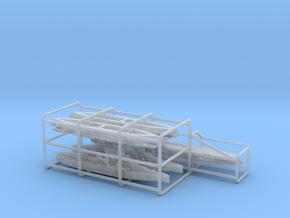 1/3000 [Bundle] USN Op Torch Ships in Smooth Fine Detail Plastic