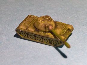T-55 Tank 1:600 x12 in Smoothest Fine Detail Plastic