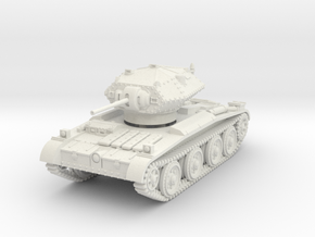 Covenanter (1/72 scale) in White Natural Versatile Plastic