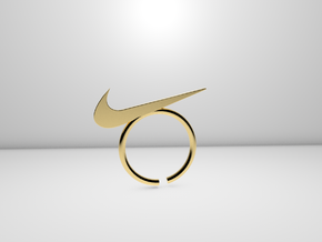 Nike Ring in 14K Yellow Gold