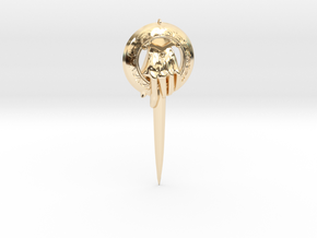 Kings Adjutants clip from Game of Thrones in 14k Gold Plated Brass