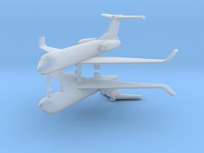 1/285 Low Detail G550 Gulfstream (x2) in Smooth Fine Detail Plastic