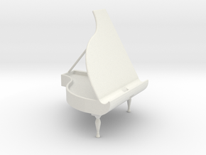 Piano Holder for Handy in White Natural Versatile Plastic