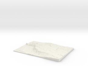 The Mendips W340 S145 E365 N163 in White Natural Versatile Plastic