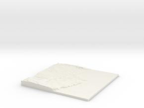 Aberdeen W390 S800 E400 N810 in White Natural Versatile Plastic