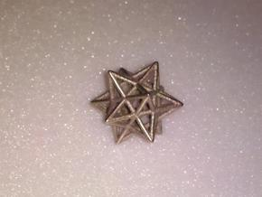 Small stellated dodecahedron in Stainless Steel