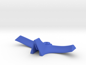 HeelBar in Blue Processed Versatile Plastic