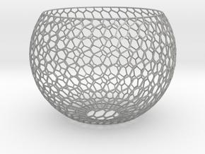 Lamp Shade-6h in Aluminum