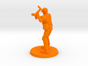 37mm Dan 'Grimes' in Orange Processed Versatile Plastic