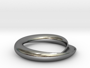 Continuity in Polished Silver: Extra Small