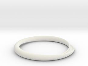 Minimum Continuity in White Natural Versatile Plastic: Extra Small
