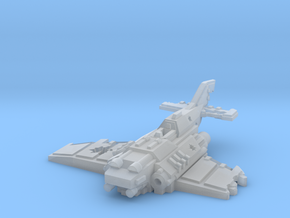 6mm Crashed Imperial Navy Fighter in Smooth Fine Detail Plastic