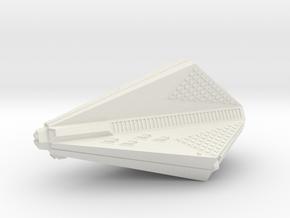 3125 Scale Tholian Destroyer Carrier (DDV) SRZ in White Natural Versatile Plastic