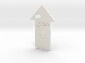 Iphone 7 Splatoon Squid Case in White Natural Versatile Plastic