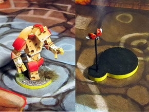 Cheese Golem & Ladybug in Frosted Ultra Detail