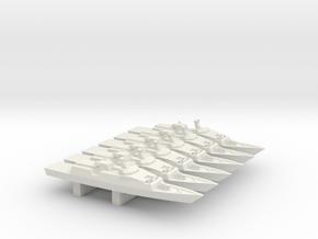 Venator-110 x 6, 1/3000 in White Natural Versatile Plastic
