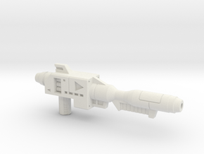 Lambo Blaster in White Natural Versatile Plastic