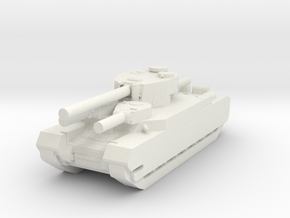 O-i tank 1/144 in White Natural Versatile Plastic