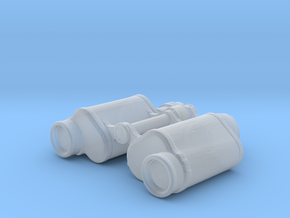 Binoculars - 1/10 in Smooth Fine Detail Plastic
